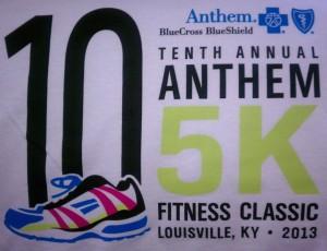 Anthem 5k T-shirt