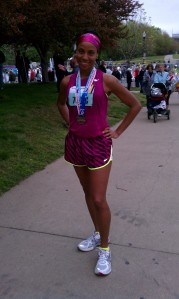 KY derby mini marathon finisher medal