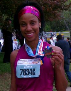 mini marathon finishers medal