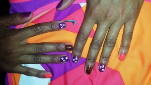 Throo The Zoo 2013 nail art