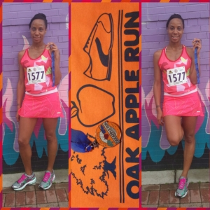 Oak Apple Run Finisher
