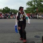 Pegasus parade clown
