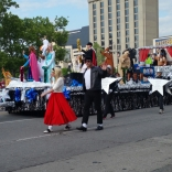 Pegasus parade float 2016