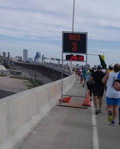 Rock 'n sole half marathon course mile 3