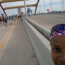 Crossing Hoan Bridge