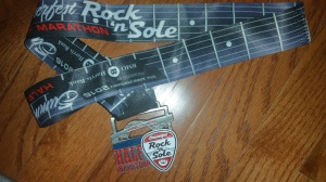 Rock n sole half marathon medal