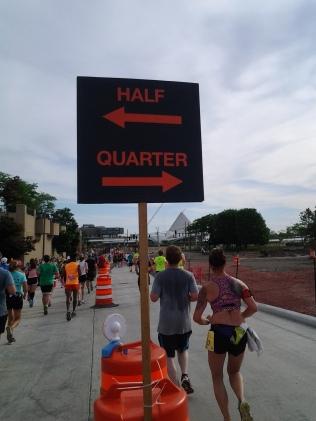 Rock n sole half marathon quarter split