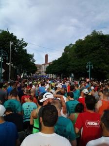 Rock 'n sole half marathon start
