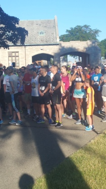 Sunrise Run Start Mt. Olivet Cemetery