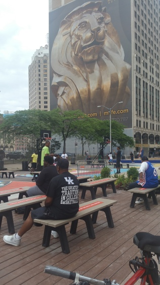 Nike Basketball Campus Martius