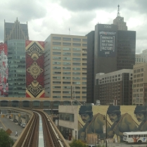 View from People Mover
