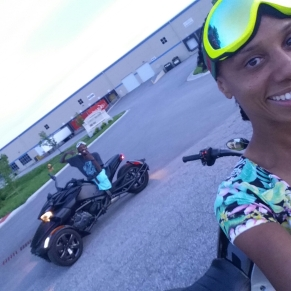 His and Her Cam Am Spyder F3s