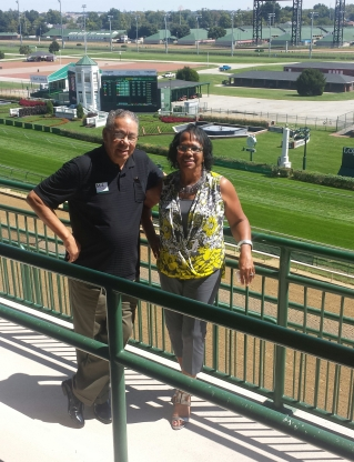 Mom and dad churchill downs