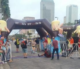 Women's 1st place 5k Winner
