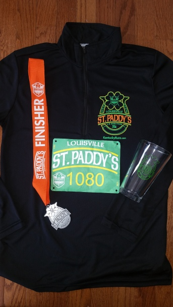 St.Paddy's Day Half Marathon Swag Louisville