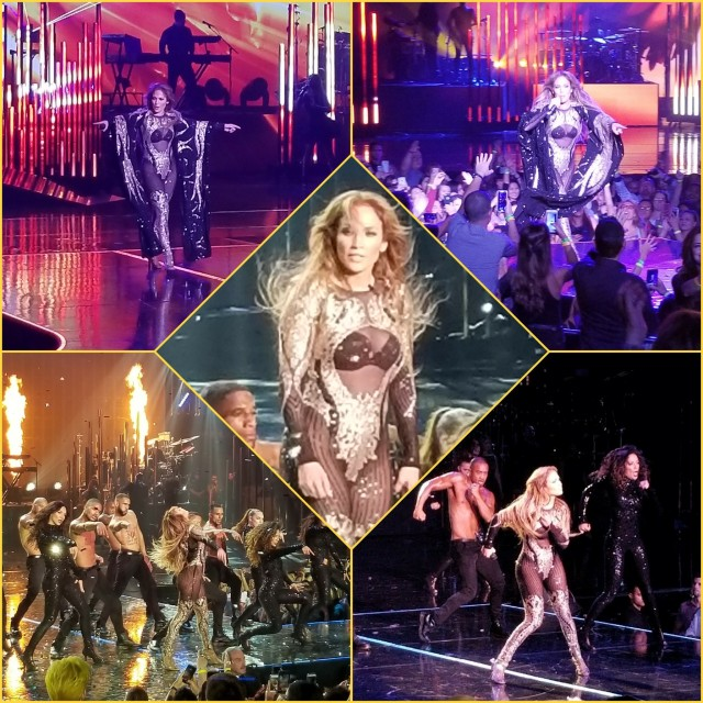 Jlo planet hollywood vegas show