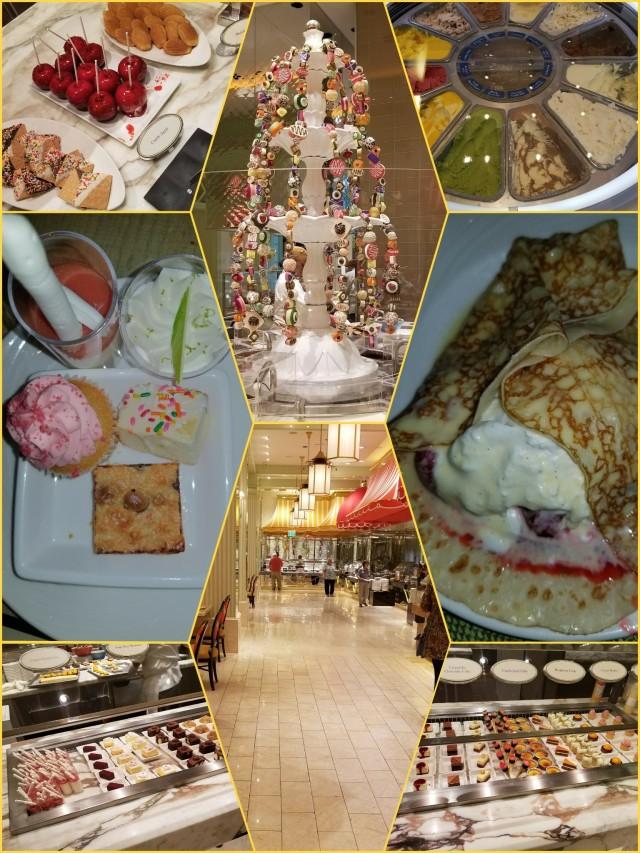 The wynn dessert buffet