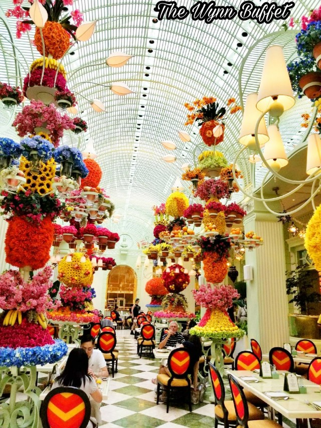 The wynn las vegas flowers