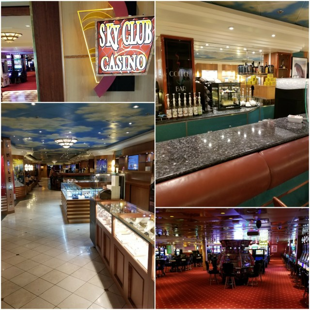 Norwegian Sky Casino, Coffee Bar, Gift Shop