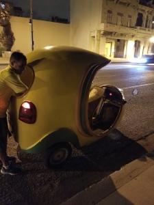 Coconut Cab Havana Cuba