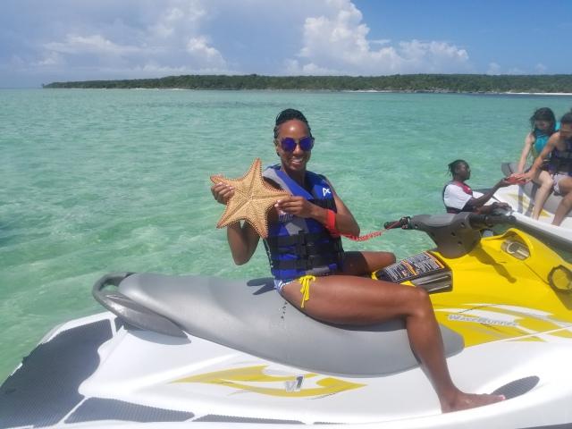 kelsie smoot Norwegian Cruise Wave Runner Excursion