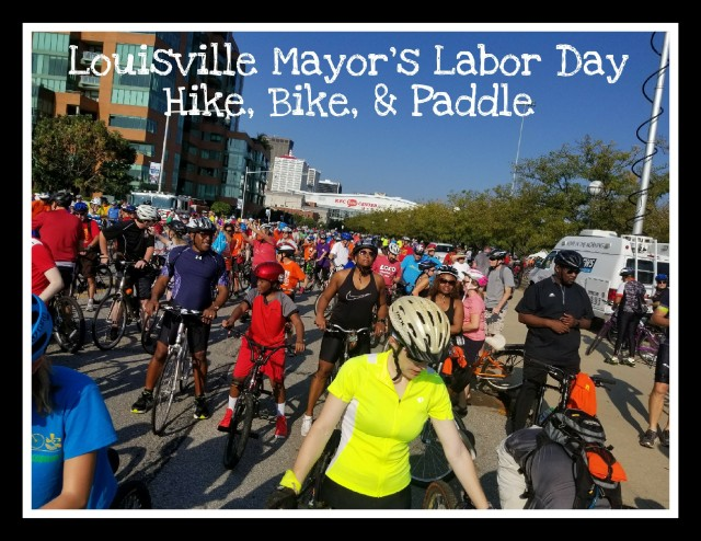 Louisville Mayors Hike Bike Paddle
