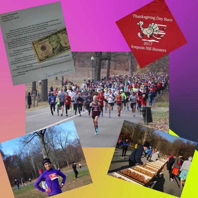 Kelsie Smoot IHR Thanksgiving Day Run 2017