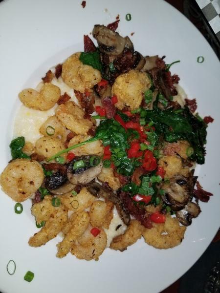 Bullfish Grill Shrimp and Grits