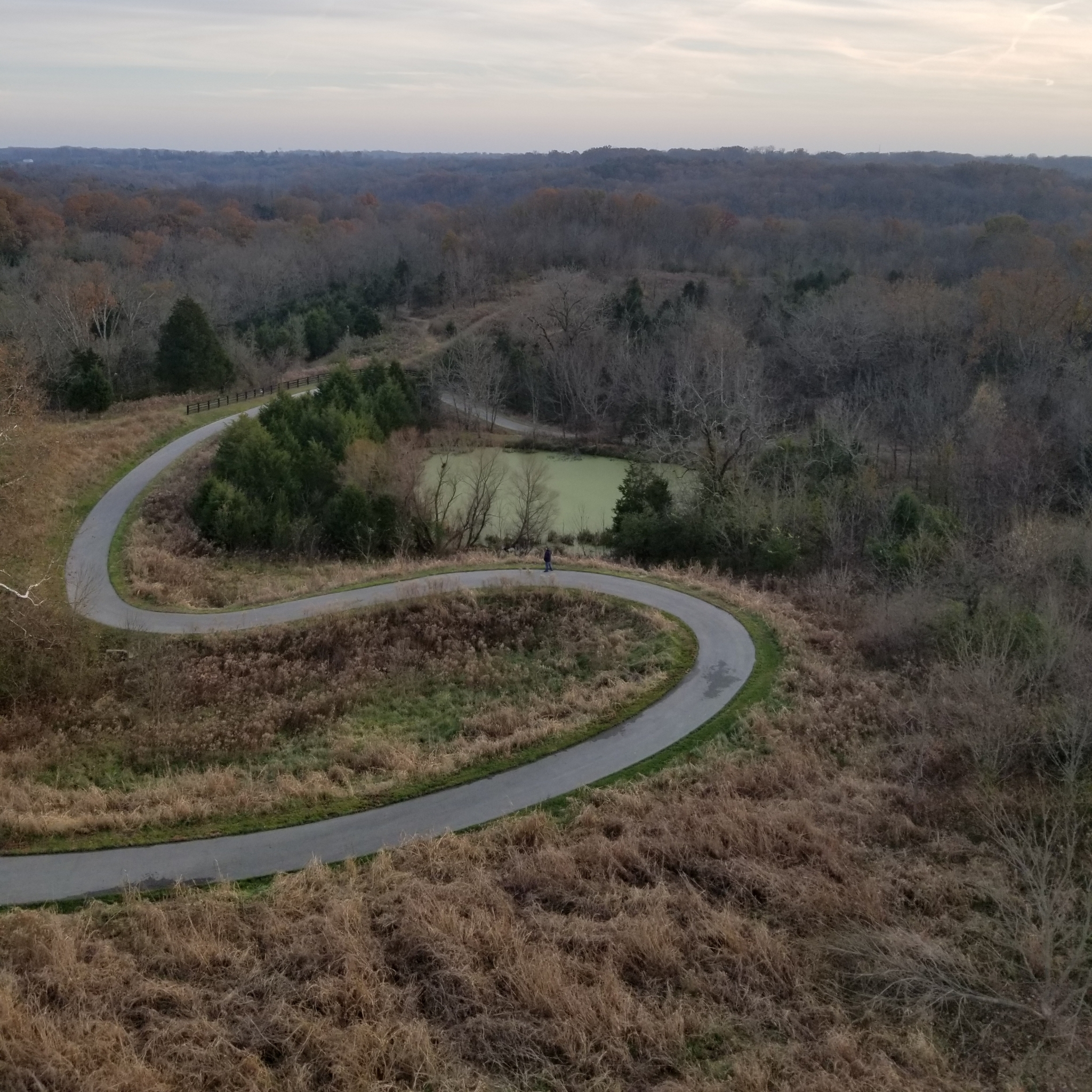 louisville loop view from brown forman silo